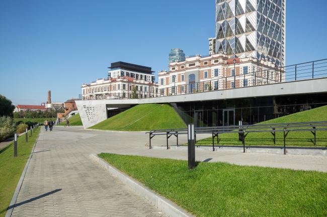 Благоустройство набережной вдоль ул. Горького в Екатеринбурге