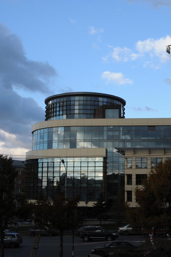 Общественно-деловой комплекс в ЦАО города Омска