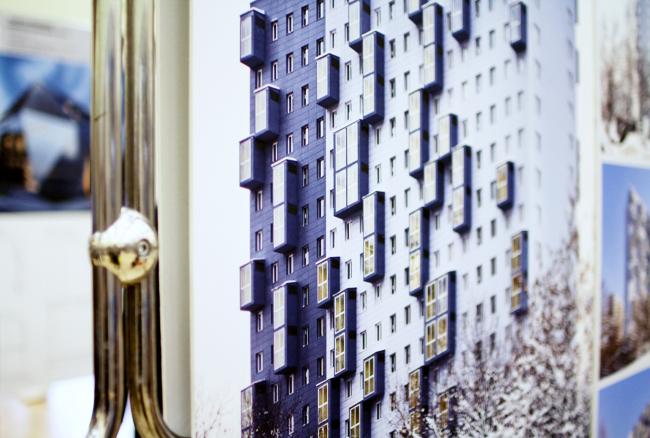Дом на Аминьевском шоссе, Моспроект-4, выставка  смотра-конкурса «Золотое сечение» 2019