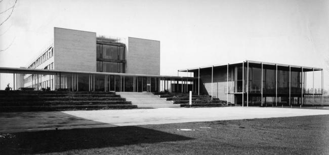 Институт физики и астрофизики Макса Планка и Институт физики Вернера Хайзенберга (1957-1960) в Мюнхене