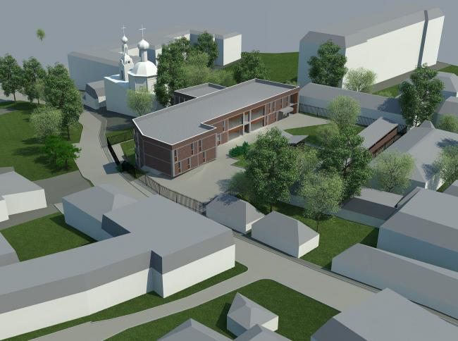 Проект реконструкции детского сада в 1-м Котельническом переулке