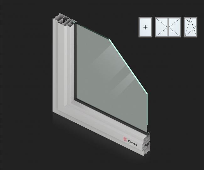 Оконные системы Xpress Standart