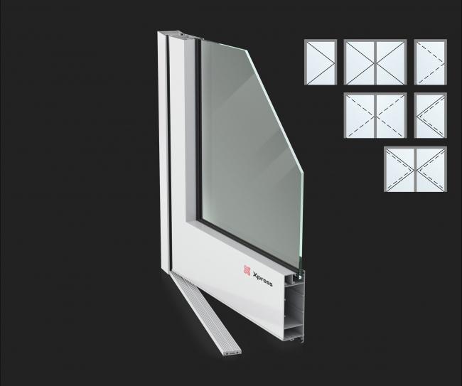 Дверные системы Xpress Standart