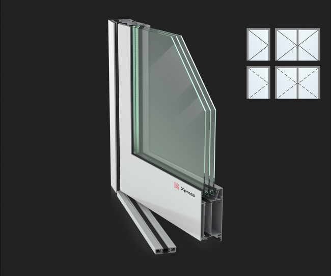 Дверные системы Xpress Maxi