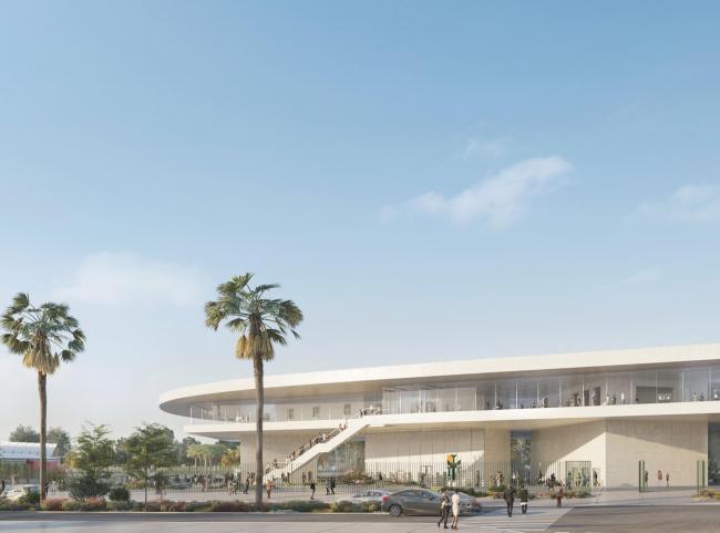 Новое здание Музея искусства округа Лос-Анджелес LACMA (2019)