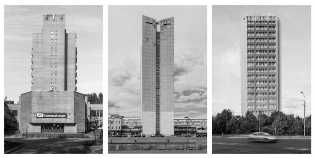 Лист из фото-проекта Дениса Есакова «Это не башня»