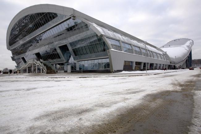 Горнолыжный спуск в Красногорске