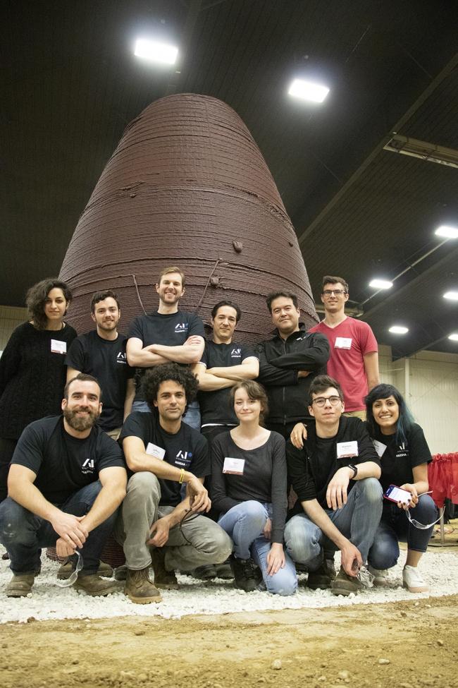 Строительство прототипа MARSHA. Команда AI SpaceFactory