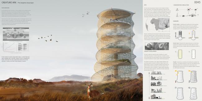 Проект Biosphere Skyscraper
