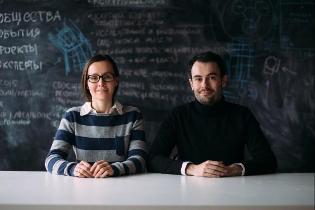 Екатерина Гольдберг и Эдуард Моро, руководители бюро Orchestra Design