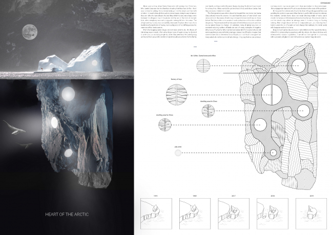 Проект «Сердце Арктики». Авторы: Хуберт Розевич, Бартош Колодзейский, Дамиан Конечны, Польша