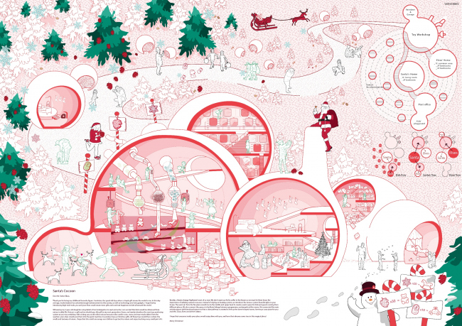 Проект «Кокон Санта-Клауса». Авторы: Дун Сы Ва, Лау Дорис Ен Киу, Гонконг