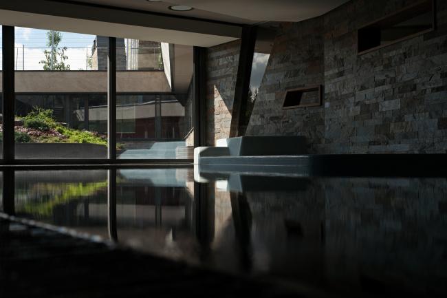 Дом «Пружина»: бассейн