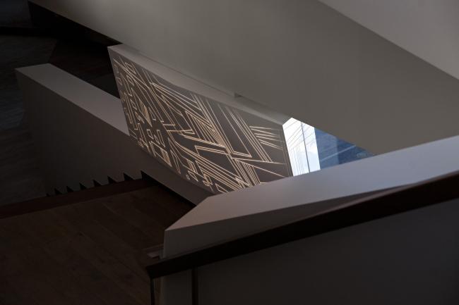 Дом «Пружина»: орнаментальная панель  – «ядро» дома