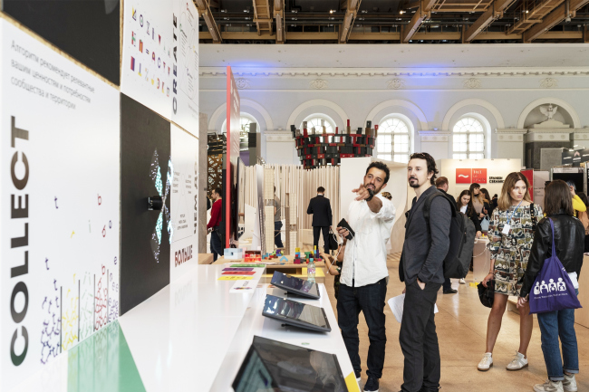 Проект Intribe.Me. Стенд на Арх Москве 2019 в рамках проекта «Дом будущего сегодня»