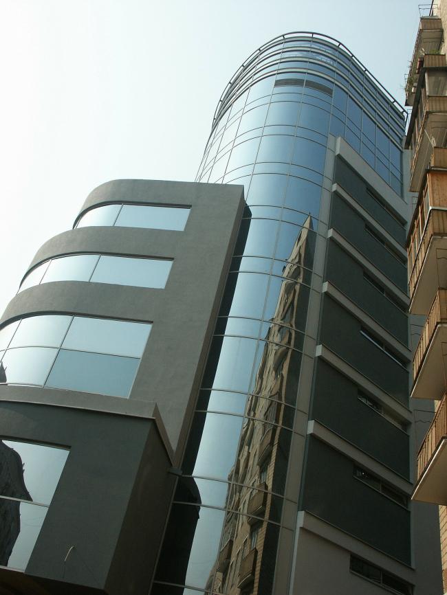 Административное здание с диспетчерским пунктом, ул. Б. Грузинская © ПТАМ Хазанова