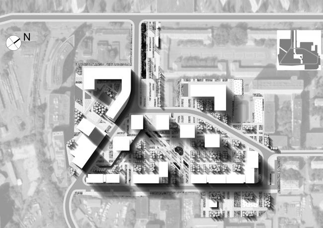 Жилой комплекс в Танковом проезде