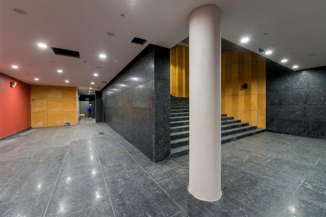 Boris Eifman Dance Academy, 2nd stage. The cloakroom area.