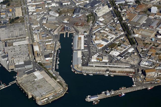 Рыбный терминал порта Лорьян