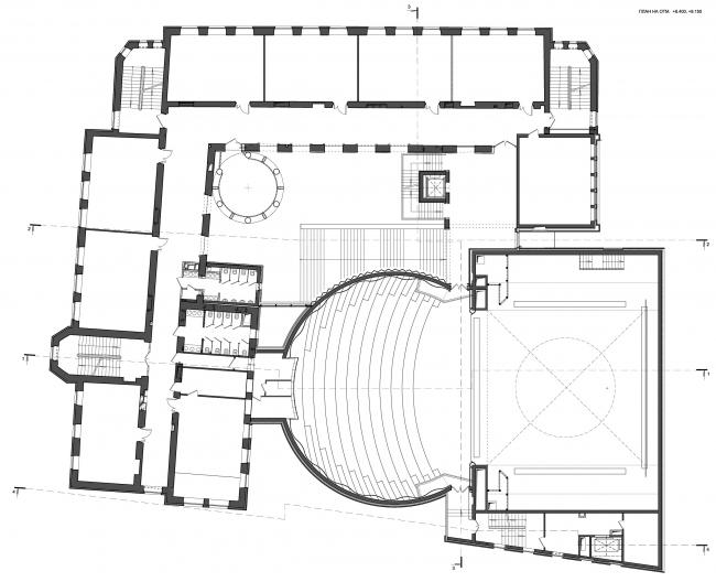 Boris Eifman Dance Academy, 2nd stage. Plan