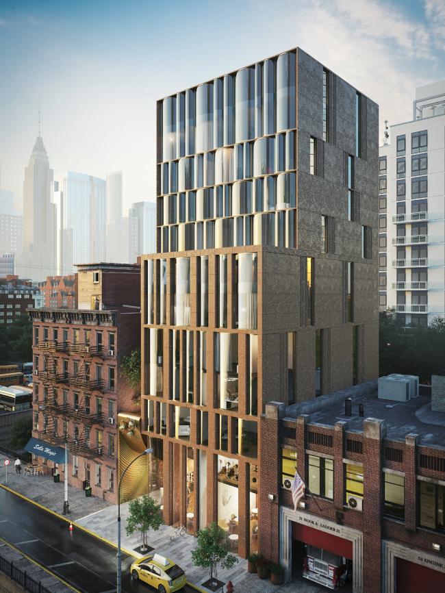 Snail Apartments housing complex