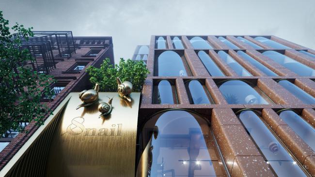 Комплекс Snail-apartments