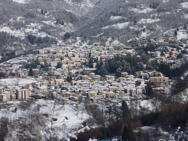 Эзино-Ларио зимой