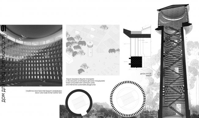 Концепция реновации водонапорных башен. Команда Марии Троян