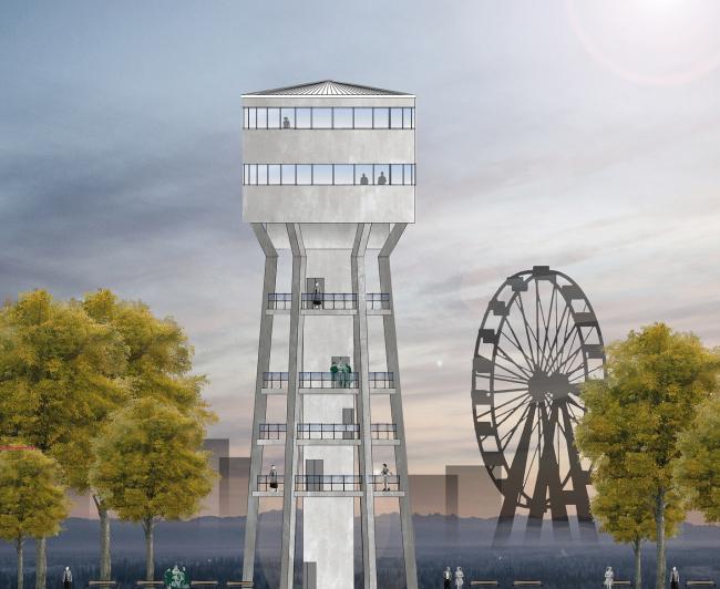 Концепция реновации водонапорных башен. Команда Ксении Калугиной-Паблос