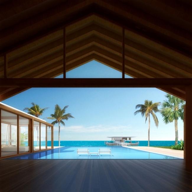 Шигеру Бан. Вилла © Shigeru Ban Architects