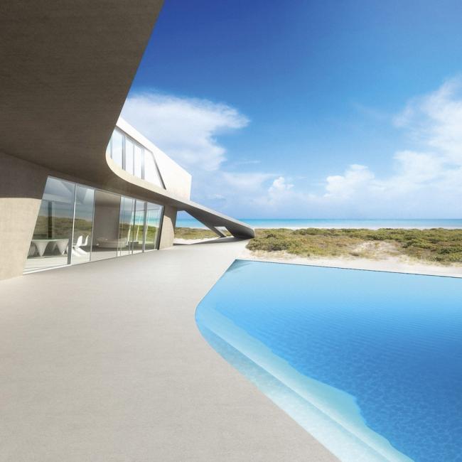 Заха Хадид. Вилла © Zaha Hadid Architects