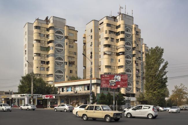 Жилые дома в Ташкенте. 1980-е годы