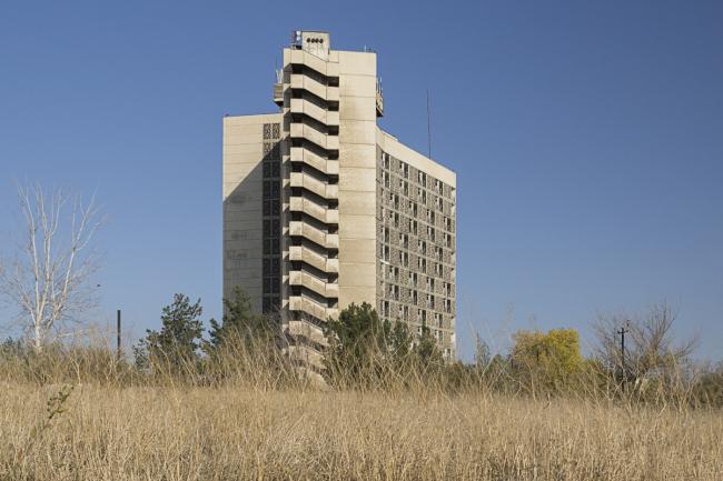 Гостиница «Ходжент» в Чкаловске (Таджикистан). 1970-е годы