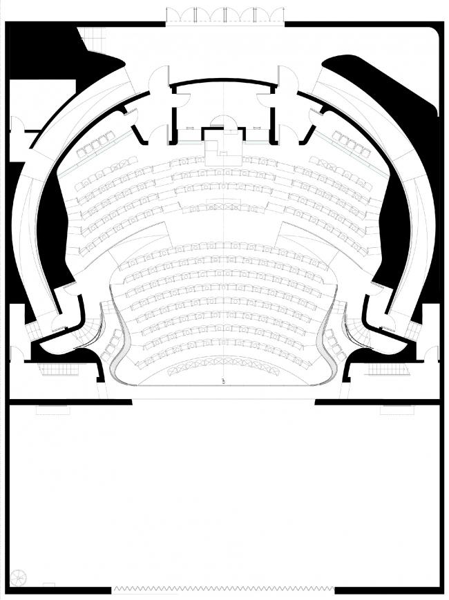 Реконструкция театра «Альянс» в Атланте. План