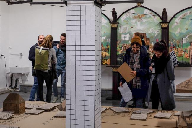 Выставка SiedlungsRequiem («Реквием по поселкам») в мюнхенской галерее Lothringer13