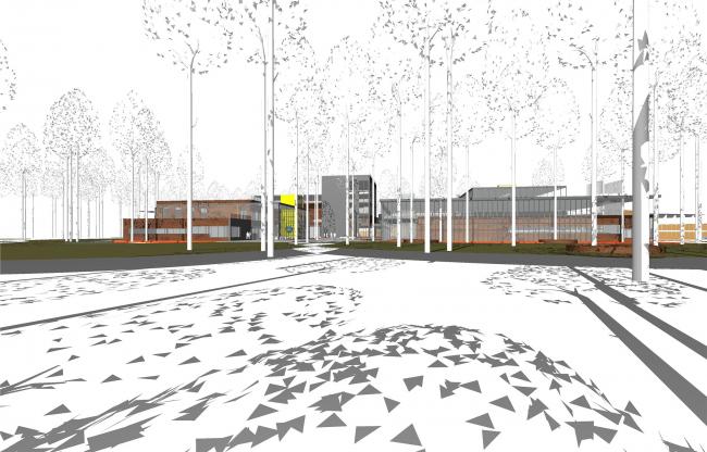 Концепция корпоративного университета ГК «Трансмашхолдинг». 3D-вид
