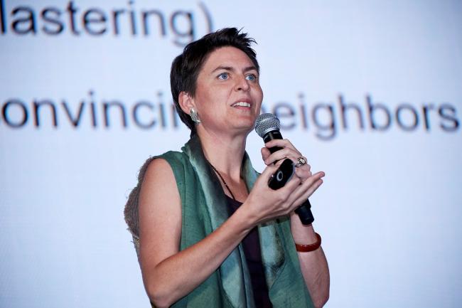 Анна Херингер (Anna Heringer), почетный профессор ЮНЕСКО
