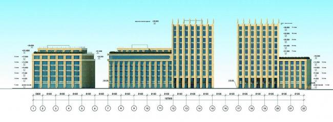 Многофункциональный комплекс на Озерковской набережной