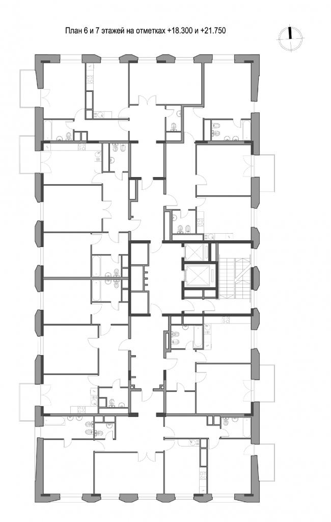 Жилой комплекс «Счастье на Серпуховке». План этажа