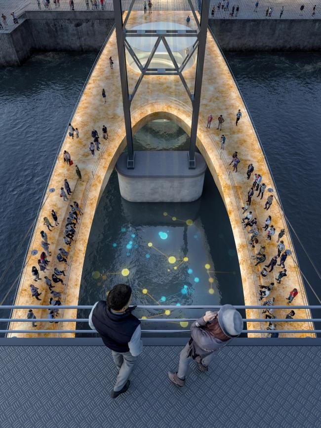 Концепция реновации железнодорожного моста в Калининграде