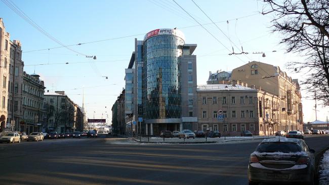 """Apollo"" business center, Saint Petersburg"