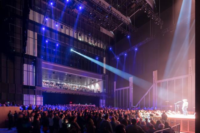 Культурный центр The Shed – здание Bloomberg. Концерты Soundtrack of America в зоне McCourt
