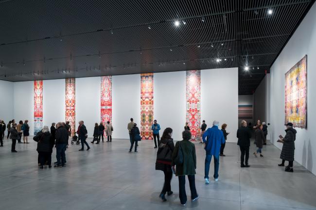 Культурный центр The Shed – здание Bloomberg. Инсталляция «Райх Рихтер Пярт»