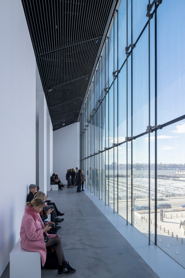 Культурный центр The Shed – здание Bloomberg