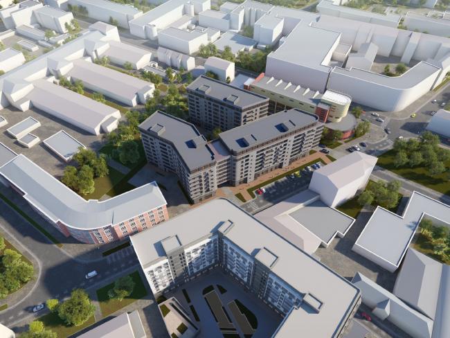 Жилой комплекс «Мендельсон», проект
