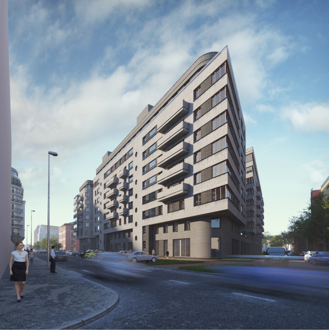 """Mendelson"" housing complex"
