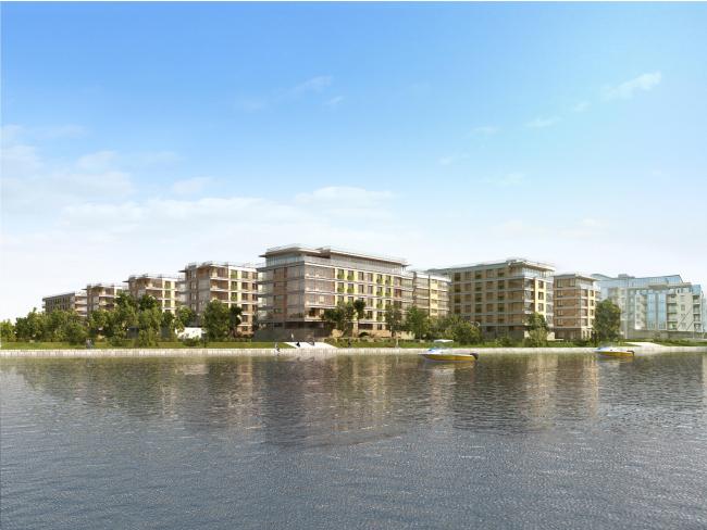 """""""Krestovsky De Lux"""" housing complex"""