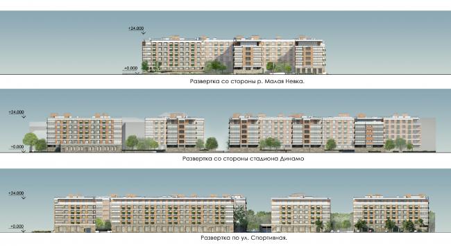 Жилой комплекс «Крестовский de lux»