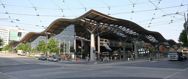 Вокзал Саузерн-Кросс. Фото: Marcus Wong Wongm via Wikimedia Commons. Лицензия GNU Free Documentation License, Version 1.2