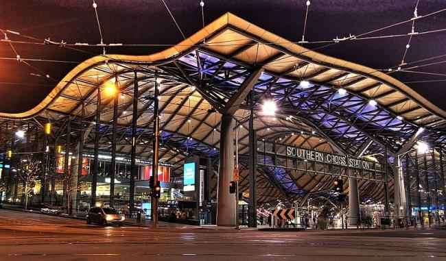 Вокзал Саузерн-Кросс. Фото: Jes via Wikimedia Commons. Лицензия CC-BY-SA-2.0